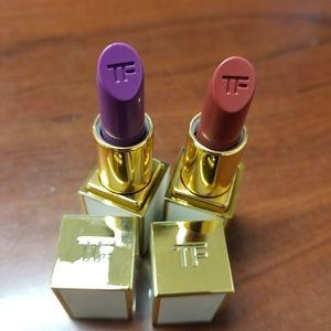 Tom Ford mini lipsticks Kaia & Helena